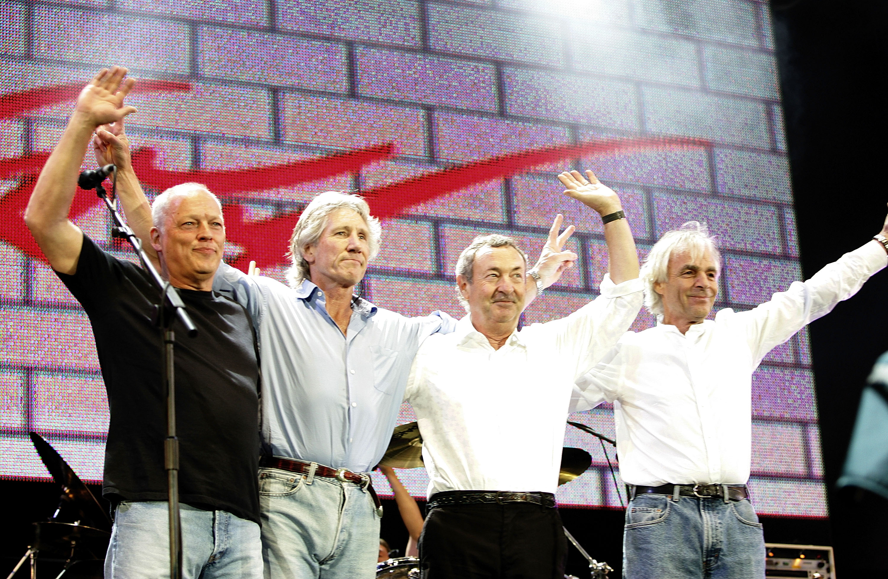 1551105514485_3.jpg - Da sinistra a destra: David Gilmour, Roger Waters, Nick Mason and Rick Wright. I Pink Floyd oggi