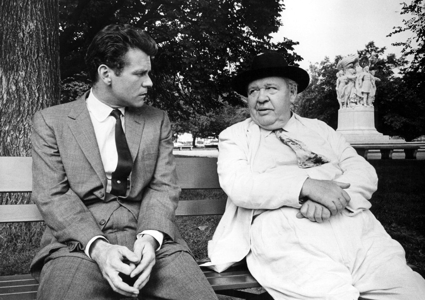 1558945782141_C_Laughton.jpg - Don Murray​ e Charles Laughton nel 1962 in Tempesta su Washington
