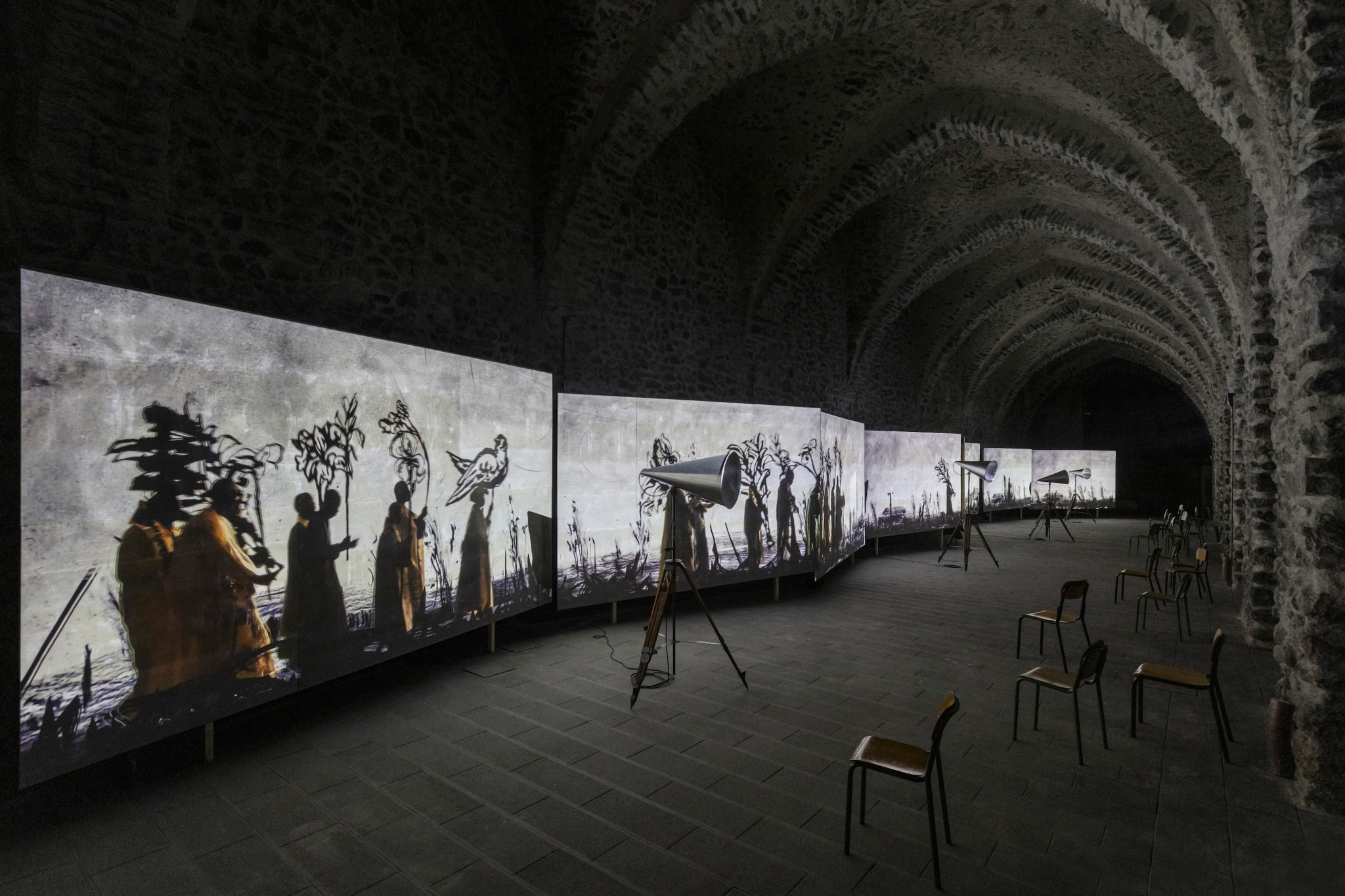 "1599135332555__T0A2607.jpg - William Kentridge ""More Sweetly Play the Dance"" Fino al 2 dicembre 2020 all'Antico Arsenale della Repubblica di Amalfi"