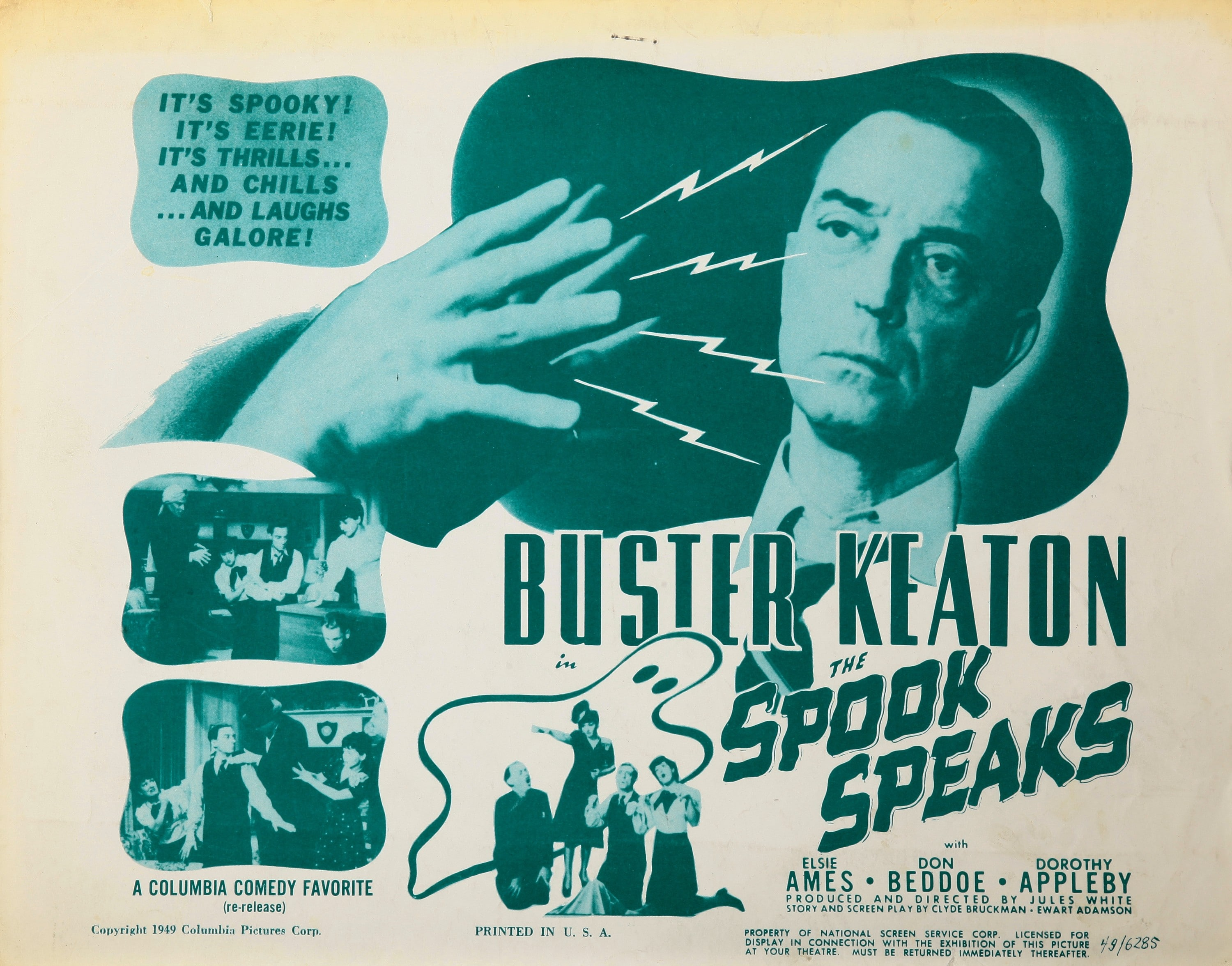 1601367907347_40.jpg - La locandina di The Spook Speaks, 1940